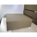Loungeelement 83x83cm Taupe