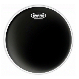 EVANS 8 Black Chrome Drumfell