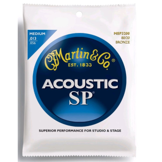 Martin Strings MSP3200 SP Bronze Medium Saitenset für Westerngitarren