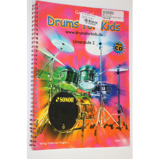 ?Drums For Kids, Band 2: Unterstufe 2, mit CD?