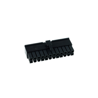 Phobya ATX Power Connector 24Pin Stecker inkl. 24 Pins - Black