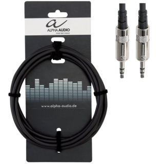Alpha Audio 3,5 mm Stereo Miniklinkenkabel 1,5 m